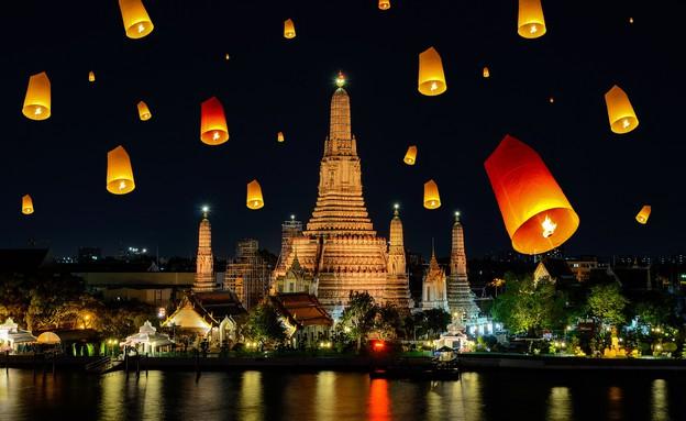 פסטיבל האור (צילום: Prasit Rodphan, shutterstock)