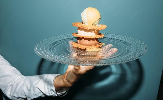 בוזה גלידה קינוח תקליטים  (צילום: אורית פניני, יחסי ציבור)