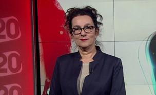 עירית לינור במשדר ליום האישה ערוץ 20 (צילום: ערוץ 20 ,  יחסי ציבור )
