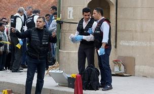 זירת הפיגוע הבוקר בקהיר. תיעוד (צילום: רויטרס)