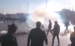 הפגנות באירן (צילום: חדשות 2)