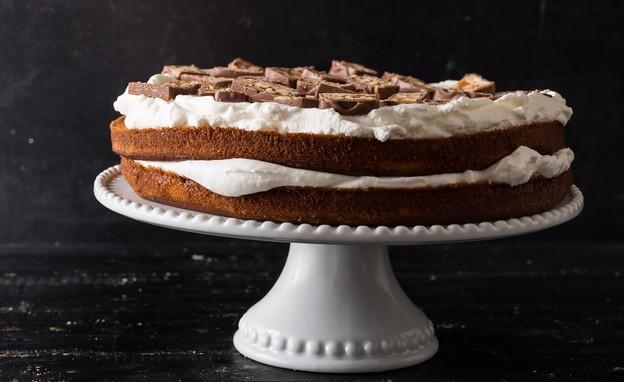 עוגת סניקרס (צילום: שני בריל, בבושקה הפקות)