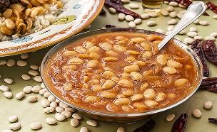 מרק שעועית ואורז לבן (צילום: אסף אמברם, אוכל טוב)