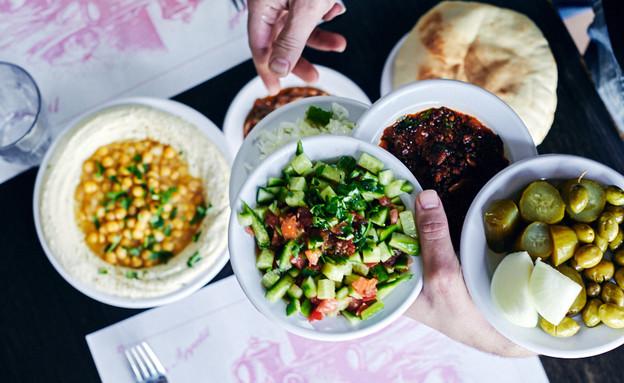 חומוס עיסא  (צילום: אמיר מנחם, אוכל טוב)