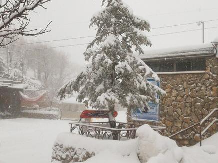 שלג בחרמון, האתר נסגר