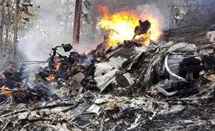התרסקות מטוס בקוסטה ריקה (צילום: חדשות 2)