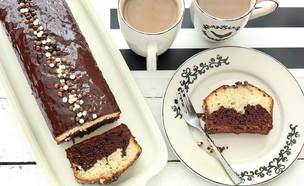 עוגת שוקו וניל (צילום: ענבל לביא, אוכל טוב)