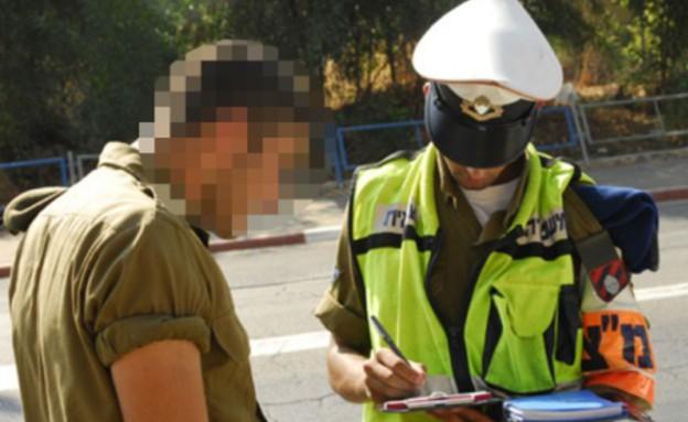 """חייל ושוטר צבאי (צילום: דובר צה""""ל )"""