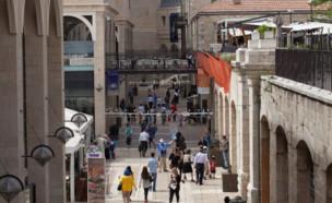 """קניון ממילא בירושלים. גידול של 9.6% בפדיון למ""""ר (צילום: אמיל סלמן, TheMarker)"""