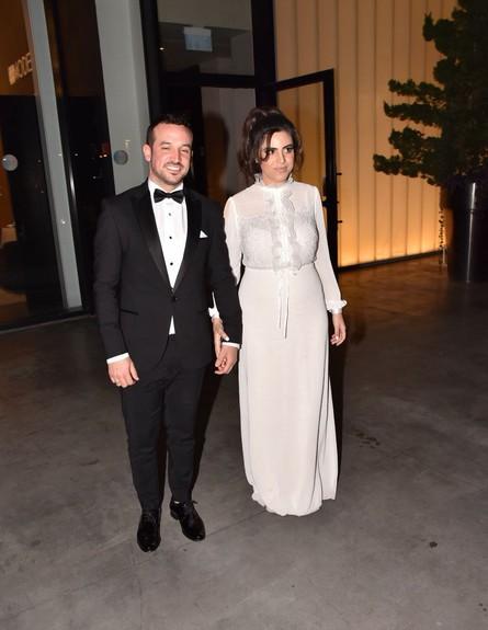 נופר מור התחתנה (צילום: צ'ינו פפראצי)