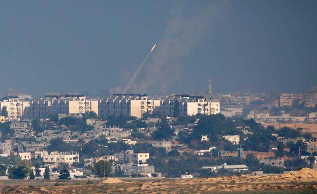 3 שיגורים זוהו (צילום: רויטרס)
