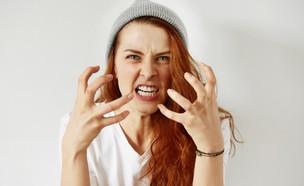 שונאת אתכם! (צילום: צילום מסך מתוך ווטסאפ, shutterstock)