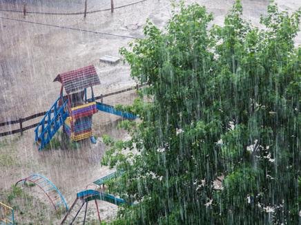 גשם חורף מזג אוויר סערה סופה