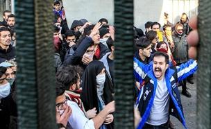 מחאות בטהרן נגד המשטר, אירן (צילום: CNN)