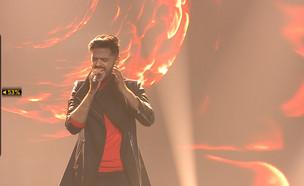 """חן אהרוני – """"Can't feel my face"""" (צילום: מתוך """"הכוכב הבא לאירוויזיון 2019"""", קשת 12)"""
