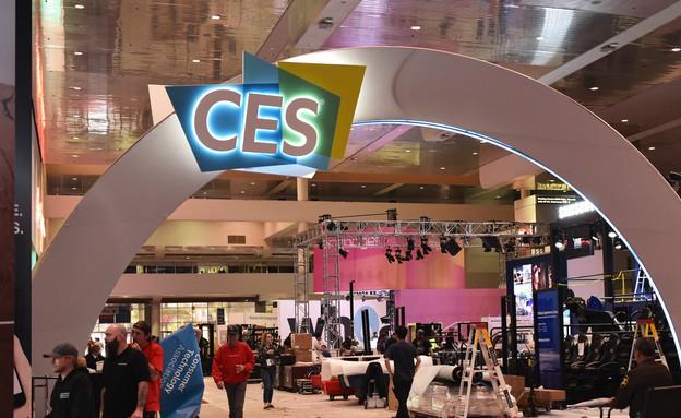הכניסה לתערוכת CES 2018 (צילום: AFP, gettyimages)
