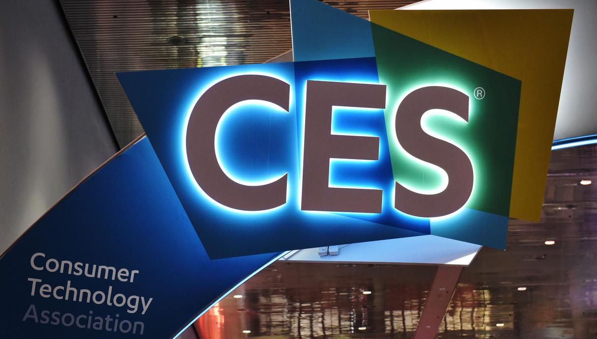 הכניסה לתערוכת CES 2018