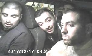 נוסעי מונית שהתעללו בנהג (צילום: החדשות)