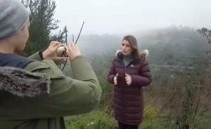 דקה לשידור עם אילנית אדלר (צילום: חדשות 2)