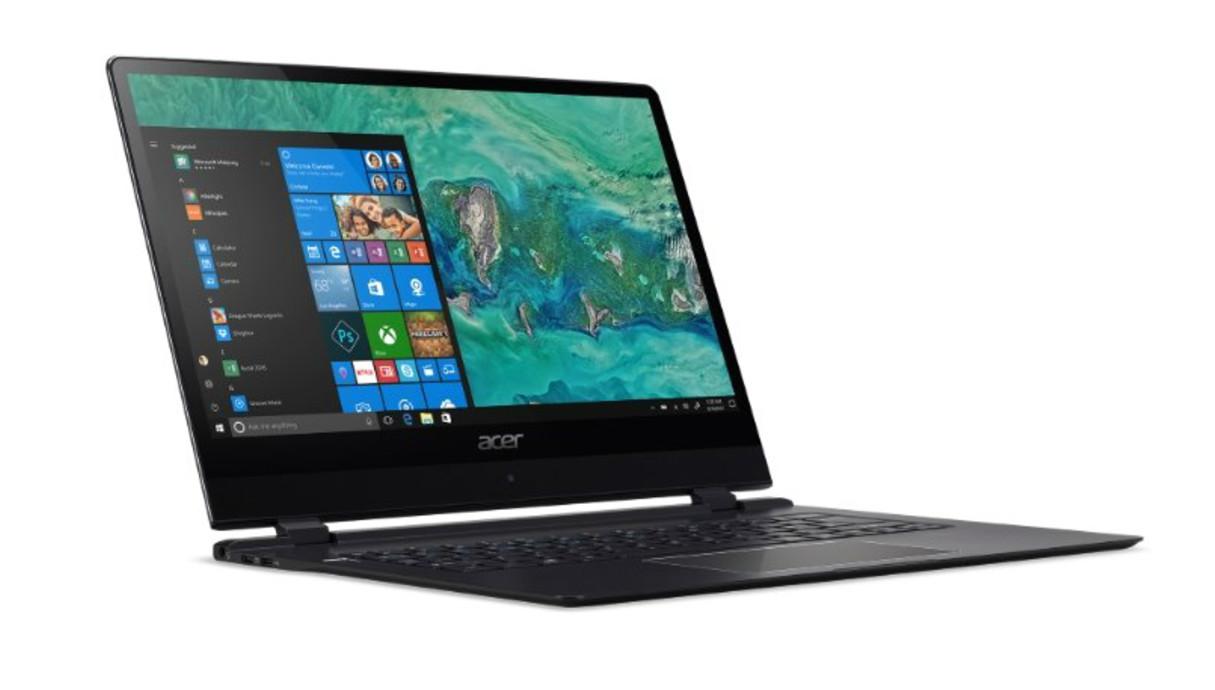 הלפטופ הדק בעולם - Acer Swift 7