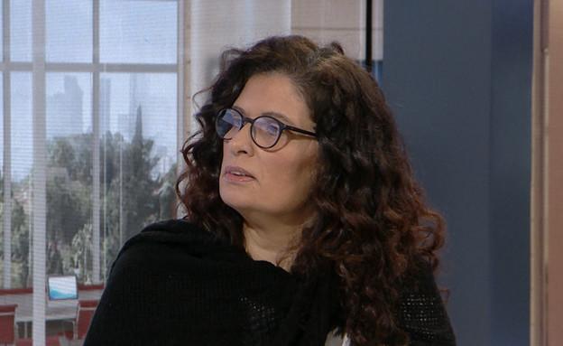 """זכתה בלוטו – ואיבדה את כל הכסף (צילום: מתוך """"חדשות הבוקר"""" , קשת 12)"""