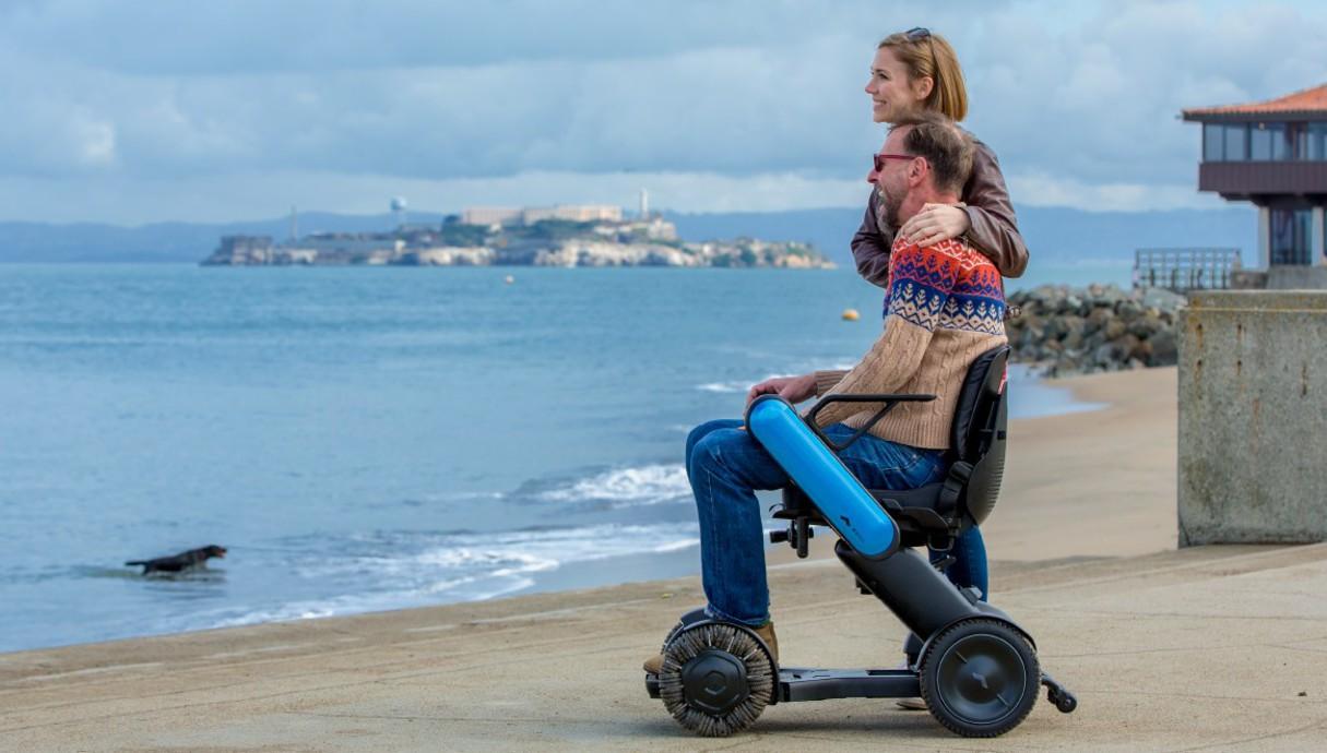 כיסא הגלגלים Model Ci של Whill