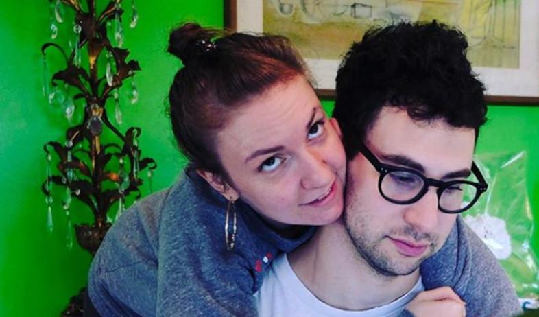 לינה דנהאם וג'ק אנטונוף (צילום:  adomeitfilm, instagram)