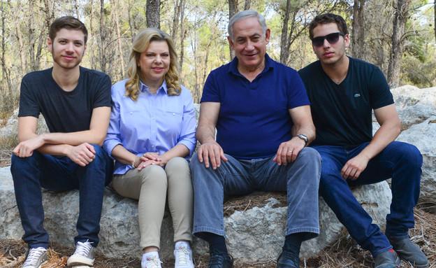 כל המשפחה (צילום: קובי גדעון, מרים אלסטר , פלאש 90)