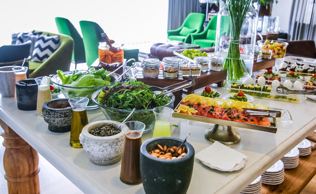 האוכל במלון (צילום: אדי ישראל)