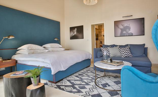 החדרים במלון (צילום: אדי ישראל)