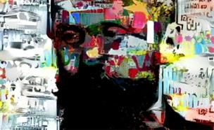 אחד מציוריו של הרצל (צילום: ישראל הרצל)