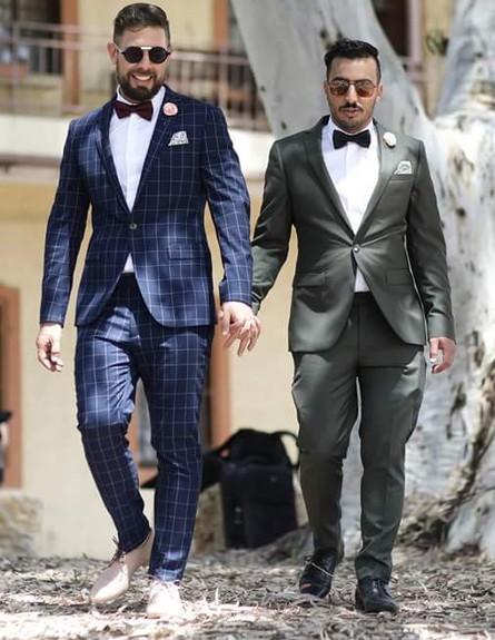 החתונה של מתן ואסף (צילום: שוסטר צלמים, יחסי ציבור)