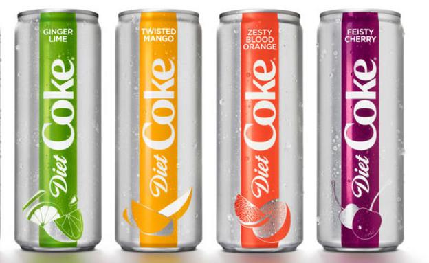 החדשים של דיאט קולה (צילום: dietcoke.com, האתר הרשמי)
