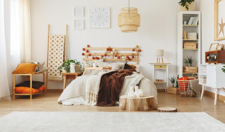 חדר שינה נטרלי (צילום: shutterstock)