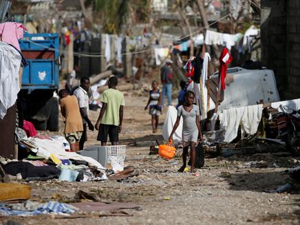 האיטי לאחר ההוריקן שפקד את המדינה (צילום: רויטרס)