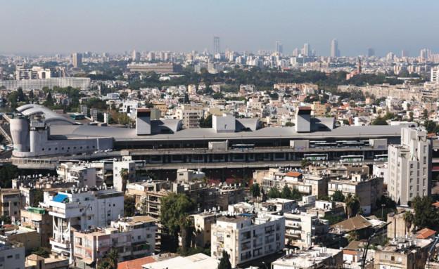 התחנה המרכזית החדשה, תל אביב (צילום: תומר אפלבאום, TheMarker)