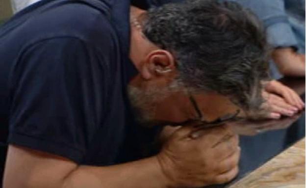חיים כהן נשבר (צילום: מאסטר שף, קשת 12)