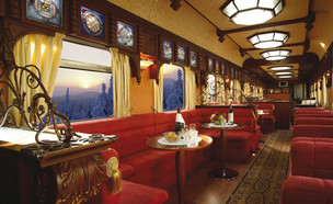 רכבת Belmond Royal Scotsman  (צילום: באדיבות Golden Eagle Luxury Trains)