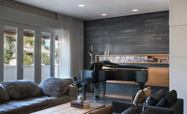 בית הפסנתרן, סלון (22) (צילום: Amit Gosher)