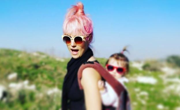 מארינה והבת  (צילום: instagram)