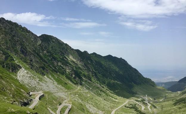 טרנספגרשן - אחד מעשרת הכבישים היפים בעולם (צילום: עצמי)
