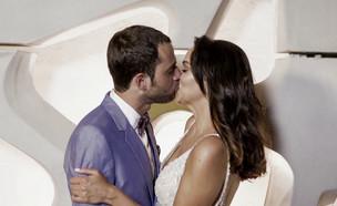 מצעד הנשיקות של טל ואחווה (צילום: חתונה ממבט ראשון, שידורי קשת)