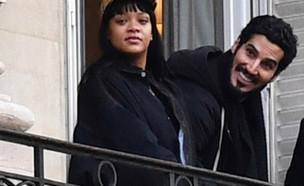 ריהאנה וחסאן ג'מיל (צילום: אינסטגרם)