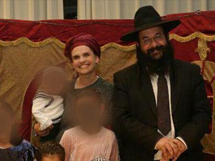הרב רזיאל ויעל שבח (צילום: חדשות 2)