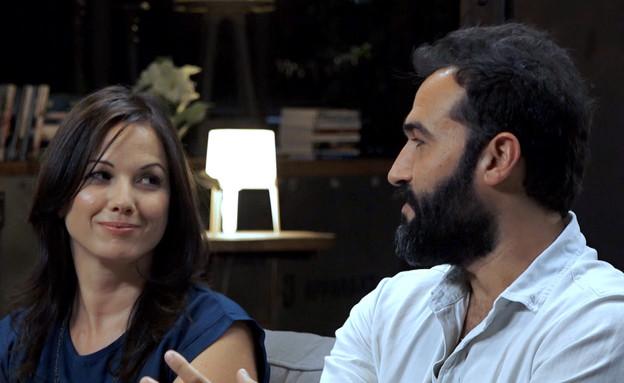 רגע ההחלטה של רלי ואלעד: נפרדים  (צילום: מתוך