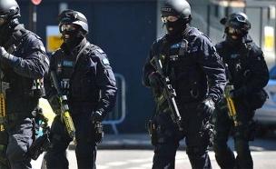 כוחות הביטחון בגרמניה פשטו (צילום: טוויטר)