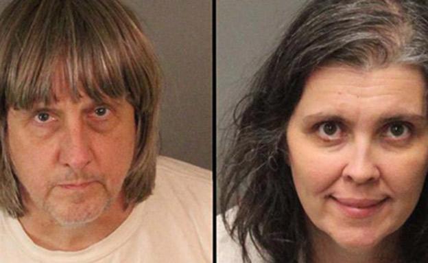 ההורים דיויד ולואיז טורפין (צילום: riverside county sheriff's department)