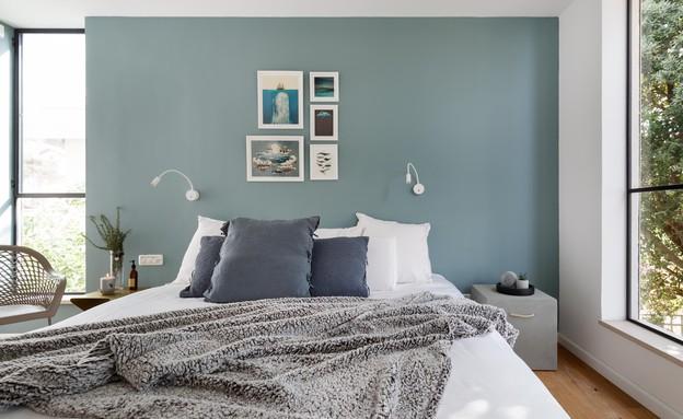 מיכל מטלון, חדר שינה (צילום: אורית ארנון)