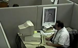 """הסרטון הויראלי הראשון באינטרנט (צילום: מתוך """"נקסט"""", קשת 12)"""