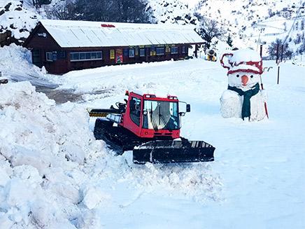 צפי לשלג בחרמון ובגולן